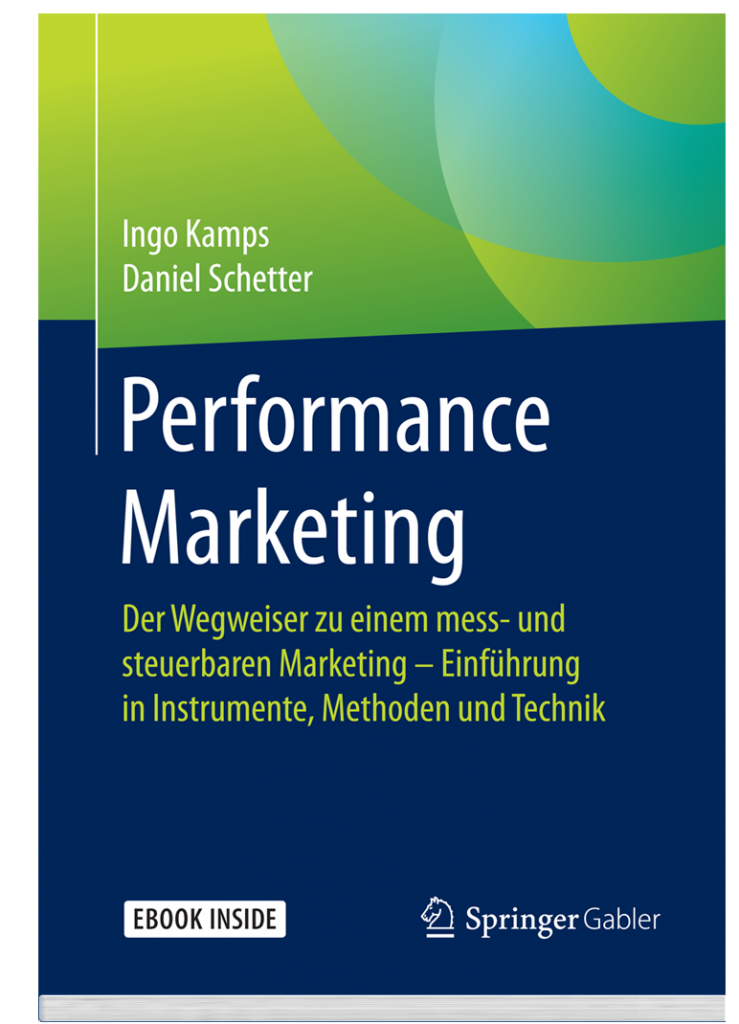 Performance Marketing Buch Cover