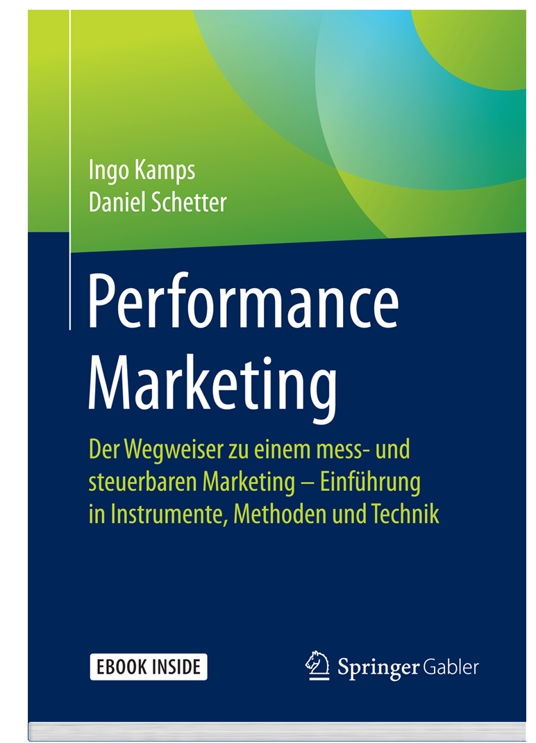 Performance Marketing Buch Vorderseite